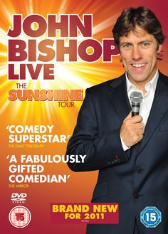 John Bishop Live The Sunshine Tour - 2011 Enter the vision for. Documentary Type and Films Original is name John Bishop Live The Sunshine Tour. Kristin Beck, Stand Up Comedy Shows, Liverpool Live, Sunshine Of Your Love, John Bishop, Fight For Freedom, English Online, Tk Maxx, Movies To Watch