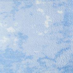 Elite Home Products Horizons Coral Fleece Blanket Blue - 999BLTW404HORIZ