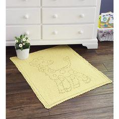 Mary Maxim - Baby Giraffe Blanket - New Items