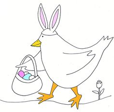 Easter Coloring Pages for Kids | Ziggity Zoom
