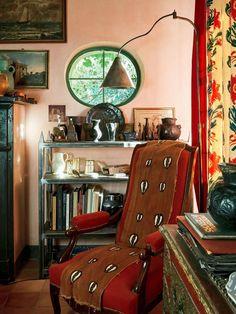 Italian Farmhouse, Rustic Italian, Farmhouse Interior, Farmhouse Furniture, Italian Style, Italian Living Room, Architectural Digest, Decoration, House Design
