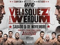 UFC 180 Noviembre 15 2014 Mexico City