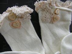SALE Boot Socks Leg Warmers Boot Topper Knitted Boot by Larrysocks