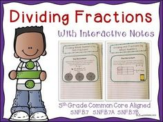Divide Unit Fractions and Whole Numbers BundleThis bundle includes everything that you will need to teach: Math Worksheets, Math Resources, Math Activities, Dividing Fractions, 5th Grade Teachers, Fifth Grade Math, Spelling Words, Common Core Standards, Elementary Math