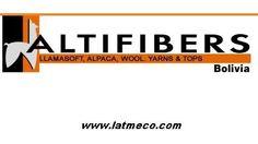 Hilos y Lanas de Llama y Alpaca en Bolivia - Altifibers fabricación de fibras hilos y lanas procedentes de animales como la Llama y la Alpaca Yarns and Wool
