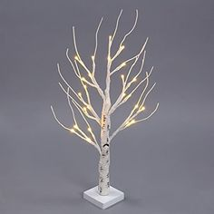 SSA 24 LEDs Battery Operated Desk Top Silver Birch Twig Tree Warm White Light White Branches for Home Party Wedding Indoor Outdoor Decoration This is rated above 4 stars and stays in the top selling products in Kitchen category in Canada. Click below to see its Availability and Price in your country.