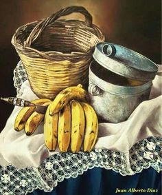 Still Life Drawing, Still Life Oil Painting, Still Life Art, Basic Painting, Fruit Painting, Diy Painting, God Pictures, Pictures To Paint, Hyper Realistic Paintings