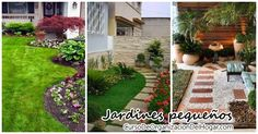 En esta ocasion te quiero compartir unas ideas muy lindas de jardines pequeños, desde como decorarlos y que plantas agregar, como y mucho mas, espero que te gusten mucho todas las ideas que encontramos para compartirte.