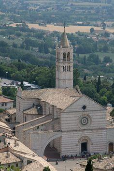 #Assisi, Basilica di San Francesco Assisi, province of Perugia , Umbria region Italy