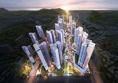 Futuristic Home, Mix Use Building, Facade Architecture, Master Plan, Urban Design, Illusions, New York Skyline, Tower, City
