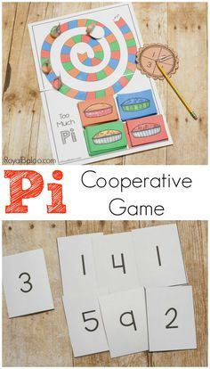 Pi day is coming up and you don't want to be without pie. Or fun Pi activities. This Pi game will teach you the number pi while having fun.