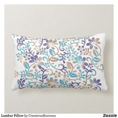 Shop Lumbar Pillow created by CreateiveBusiness. Lumbar Pillow, Bed Pillows, Pillow Inserts, Pillow Covers, Custom Pillows, Create Your Own, Pillows, Pillow Case Dresses, Pillow Shams