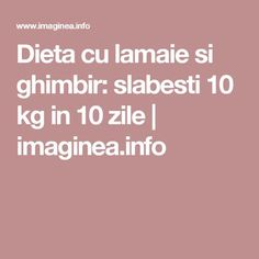 Dieta cu lamaie si ghimbir: slabesti 10 kg in 10 zile | imaginea.info How To Get Rid, Lose Weight, Healthy Recipes, Healthy Food, Health Fitness, Beauty, Sport, The Body, Healthy Foods
