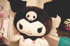 kuromi, now if I'm correct this is at the Sanrio store. We used to have one at our mall, I can't believe they got rid of it! It wasn't even there for a whole year either!!