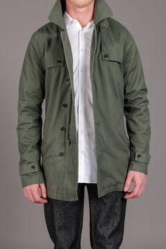 MG Black Label Rainier Twill Dark Olive Jacket