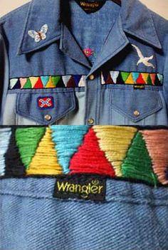 vintage Wrangler