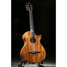 Taylor Custom-GC-9070 Nylon String Acoustic-Electric Guitar Natural