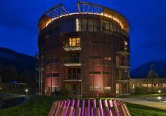Kuscheln im Kuschelhotel GAMS im Bregenzerwald Das Hotel, Wellness, Austria, Romantic, Mansions, House Styles, Travel, Fairytale, Home