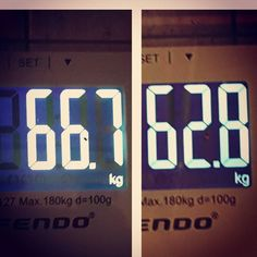 #check time! This is the result after one week of #healthyfood and #diet of course it's water and not fat but I feel better! Today #workout and #nocheat #focus #fitness #dedication #changebody #changemind #IF #Intermittentfasting  dopo una settimana e tanta acqua persa ecco il mio nuovo peso oggi allenamento e proseguiamo! by new_me_bb_fitness