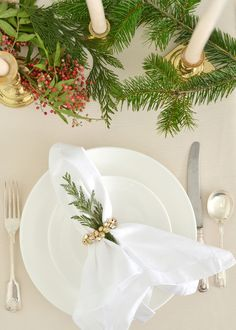 DIY holiday jingle bell napkin rings