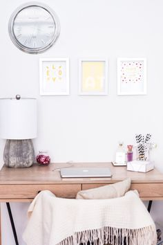 8 Minimalist Home Office Ideas to Steal Now #RueNow