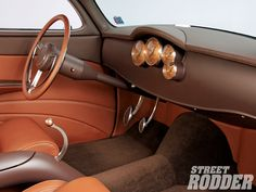 like the leather and paint combo