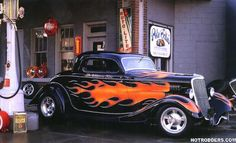 The California Kid - 34 Ford - My dad introduced me to this car. Had this picture as a poster on my wall from one of his old Hot Rod magazines.