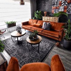 I probably like the couches if they were in more of a cool blue color Muebles industriales Living Room Decor Elegant Living Room, Elegant Home Decor, Elegant Homes, Living Room Modern, Home Living Room, Interior Design Living Room, Living Room Designs, Interior Designing, Apartment Living