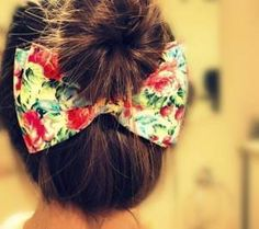 we're huge fans of the hair bow