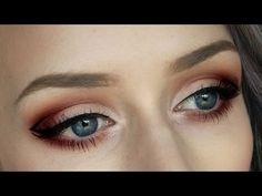 burgandy smokey eye tutorial