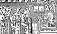 16th century student - Google Search  Interior of a 16th-century school from Science and Literature...