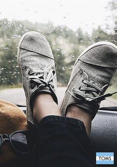 Every getaway calls for a pair of TOMS shoes.