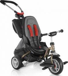 Rowerek trójkołowy Puky CAT S6 Ceety - brązowy