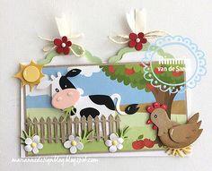 Marianne Design Collectables - Eline's Cow Craft Die Set COL1426