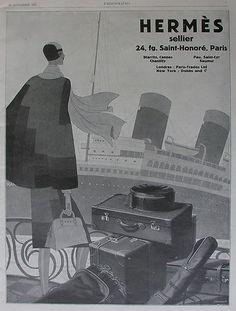 Vintage Travel - Hermes