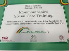 Monmouthshire Social Care Training