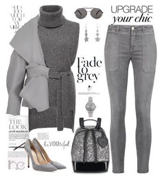 """""""Holiday Style: Cozy Chic"""" by ellie366 ❤ liked on Polyvore featuring Rika, Rosetta Getty, Current/Elliott, Seafolly, Balmain, Furla, Humör, Olivia Burton, Gianvito Rossi and casual"""