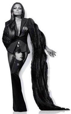 Janet Jackson paying homage to her Rhythm Nation 1814 album, which was originally released in Jackson Family, Janet Jackson, Michael Jackson, Beautiful Black Women, Beautiful People, The Jacksons, Black Girls Rock, Celebs, Celebrities