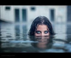 Lady in the lake by Gunnar Gestur Geirmundsson