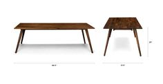 Seno Walnut Dining Table For 8 - Dining Tables - Article | Modern, Mid-Century and Scandinavian Furniture