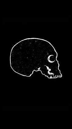 Honestly Okay/ skull mountain art love wallpaper Dark Wallpaper, Wallpaper Backgrounds, Wallpapers, Illustration Art, Illustrations, Skull And Bones, Skull Art, Dark Art, Crane
