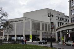 Detroit Opera House in downtown Detroit