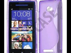 HTC 8X Skal - YouTube - Lux-Case.se