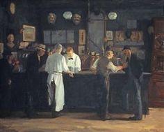 McSorley's Bar : John Sloan : c1912 : Fine Art Giclee  in Home & Garden, Home Décor, $44