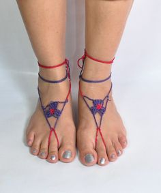 In the triangle footsie - Anklets - Trinket bag - www.trinketbag.com