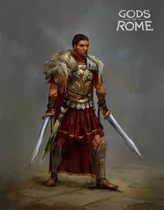 ArtStation - Gods Of Rome - early character design, Thomas Brissot