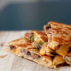 WEBSTA @ cafecalacasdtsa - Steak Quesadilla..that's what's for Lunch. @cafecalacasdtsa