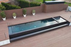 Community pool and terraces Garden Swimming Pool, Swiming Pool, Small Swimming Pools, Small Pools, Swimming Pool Designs, Backyard Pool Designs, Small Backyard Pools, Pool Landscaping, Patio Design