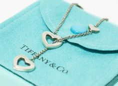 Tiffany Heart Lariat Necklace. Get the lowest price on Tiffany Heart Lariat Necklace and other fabulous designer clothing and accessories! Shop Tradesy now