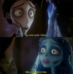 I love you, Victor. But you're not mine. Disney Movies, Disney Pixar, Movie Theater, Movie Tv, Polaroid Picture Frame, Laika Studios, Unspoken Words, Crush Memes, Corpse Bride